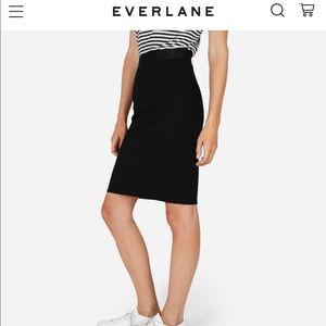 Everlane Ponte Pencil Skirt